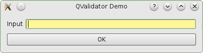 Validating user input in PyQt4 using QValidator